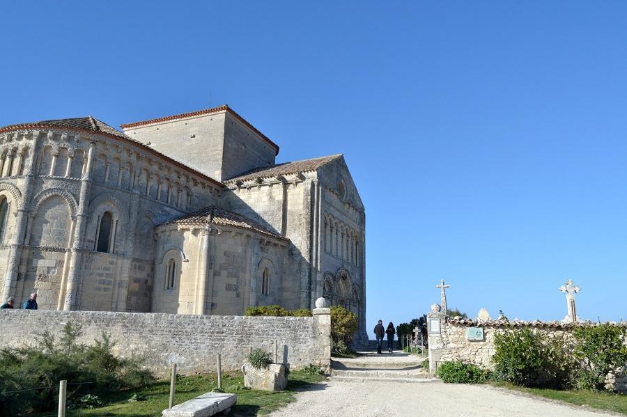 Eglise Ste Radegonde de Talmont-sur-Gironde