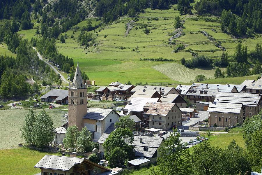 Arvieux dans les Hautes-Alpes