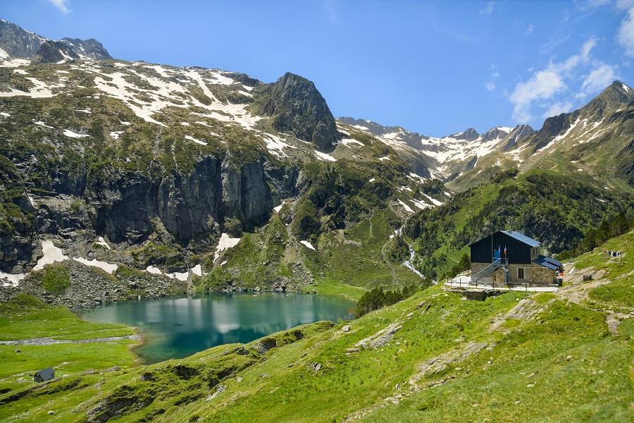 Lac de montagne dans les Pyrénées