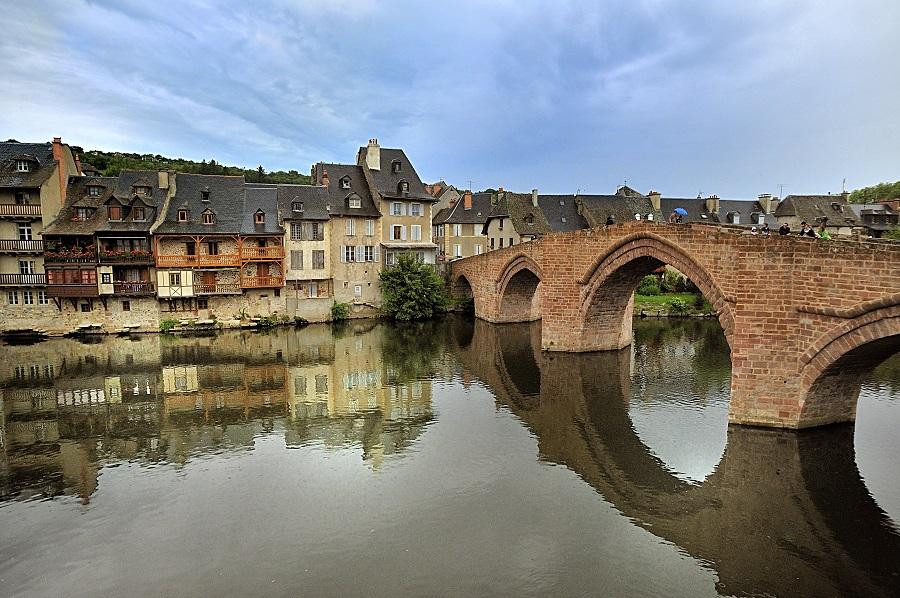 Espalion, village d'Aveyron
