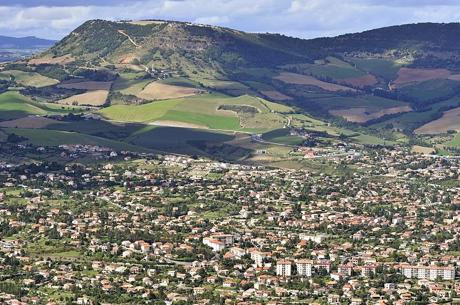 Millau, sous-préfecture de l'Aveyron