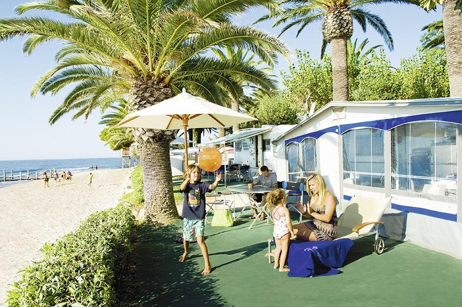 Camping Playa Montroig à Montroig del Camp