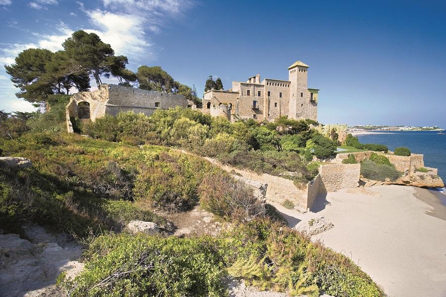 Château de Tamarit à Tarragone