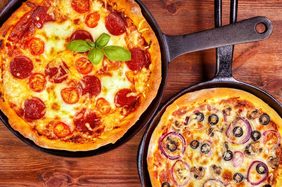 Cuisine au camping : pizza à la poêle