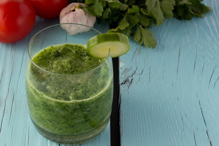 Cuisine au camping : gaspacho au concombre