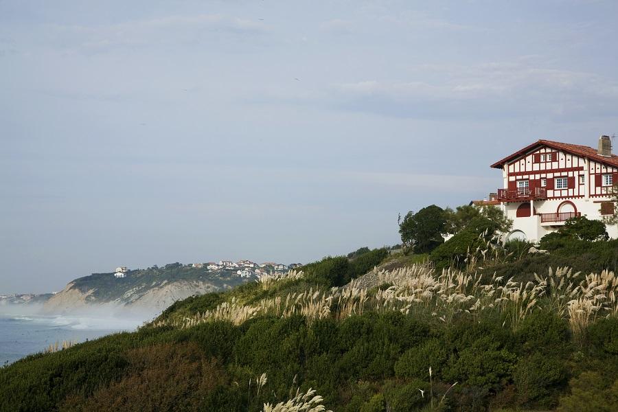 Guéthary sur la Côte Basque