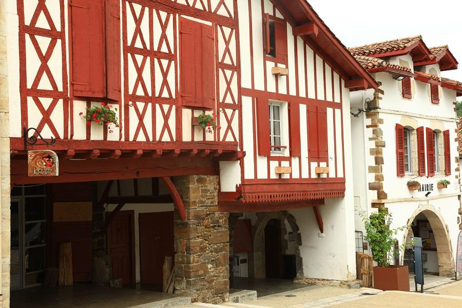 La Bastide-Clairence dans le Pays Basque