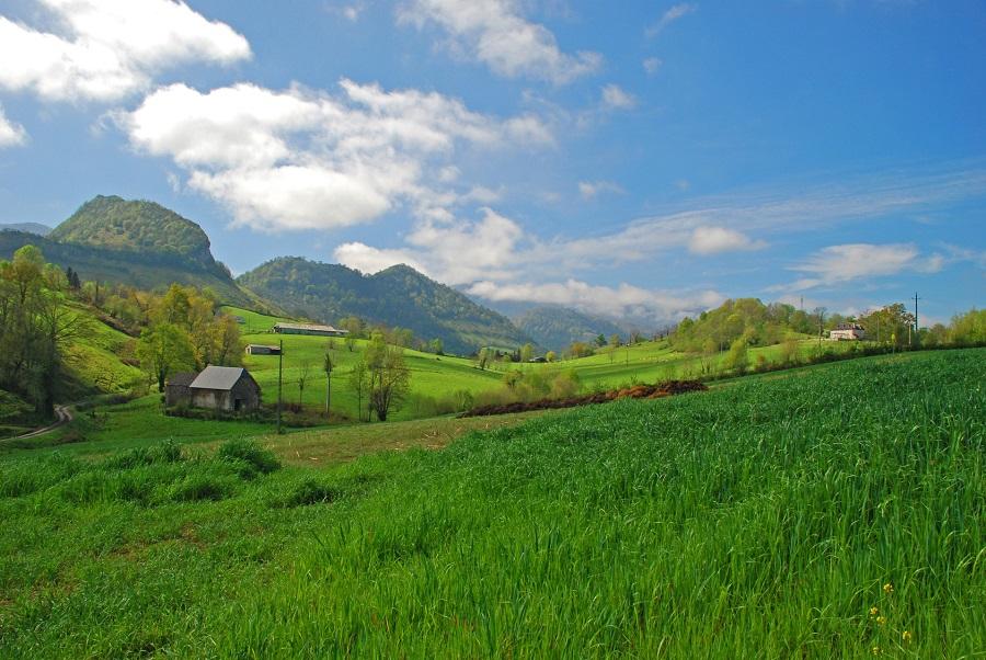 Pays Basque à Tardets-Sorholus