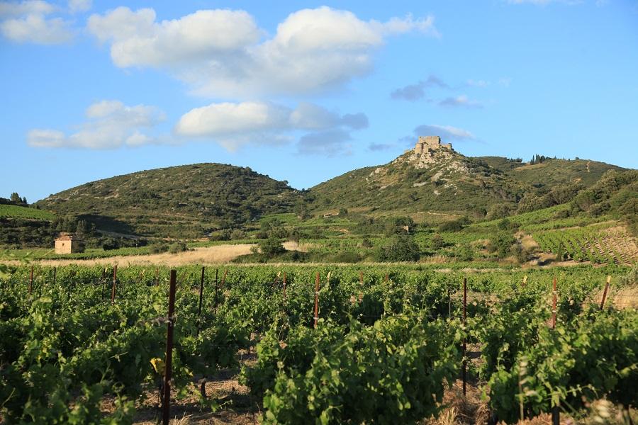 Tuchan et le Château d'Aguilar