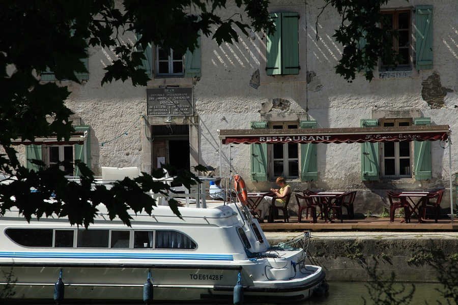 Canal du Midi à Bram