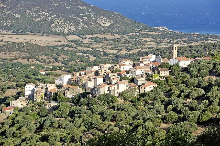 Aregno, village de Balagne