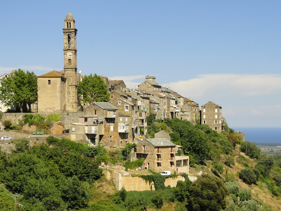 Venzolasca, village de la Casinca