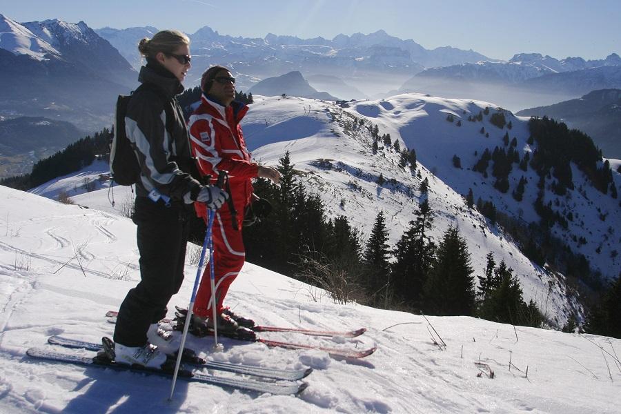 Domaine skiable d'Hirmantaz-Les Habères
