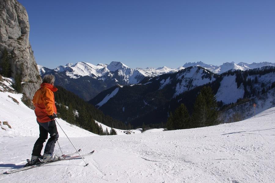 Ski au Roc d'Enfer
