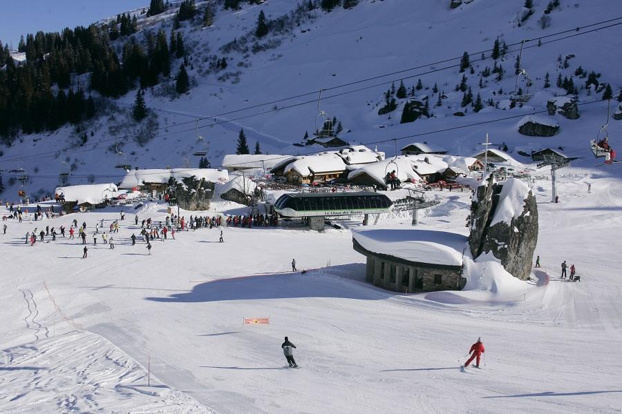 Ski à Plaine-Manse