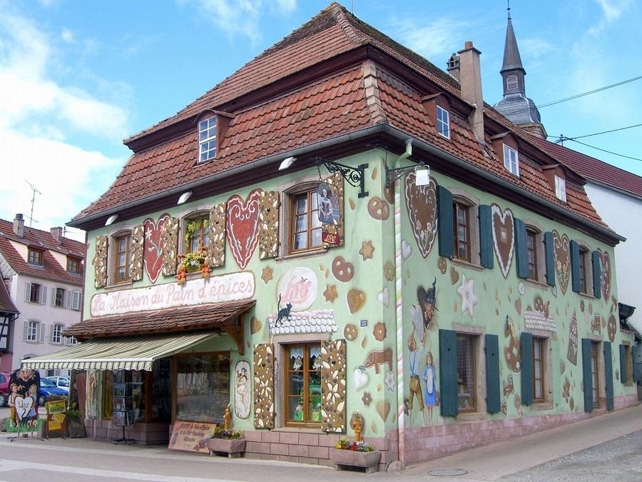 La Maison du pain d'épices à Gertwiller