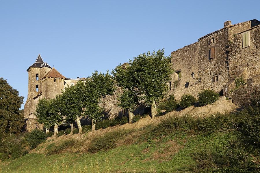 Village fortifié de Camon en Ariège