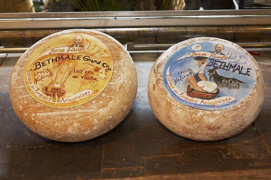 Le bethmale, fromage ariégeois