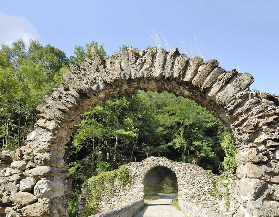 Pont du Diable à Montoulieu
