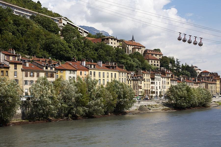 Grenoble, quais de l'Isère