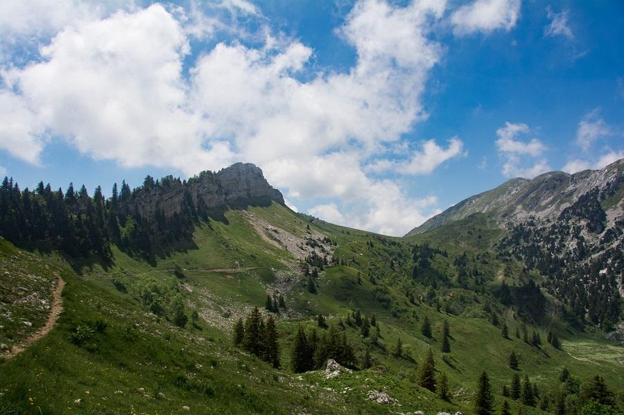 Col de la Grande Vache dans le Massif de la Chartreuse