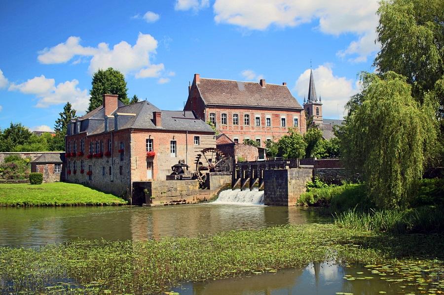 Moulin de Maroilles dans l'Avesnois