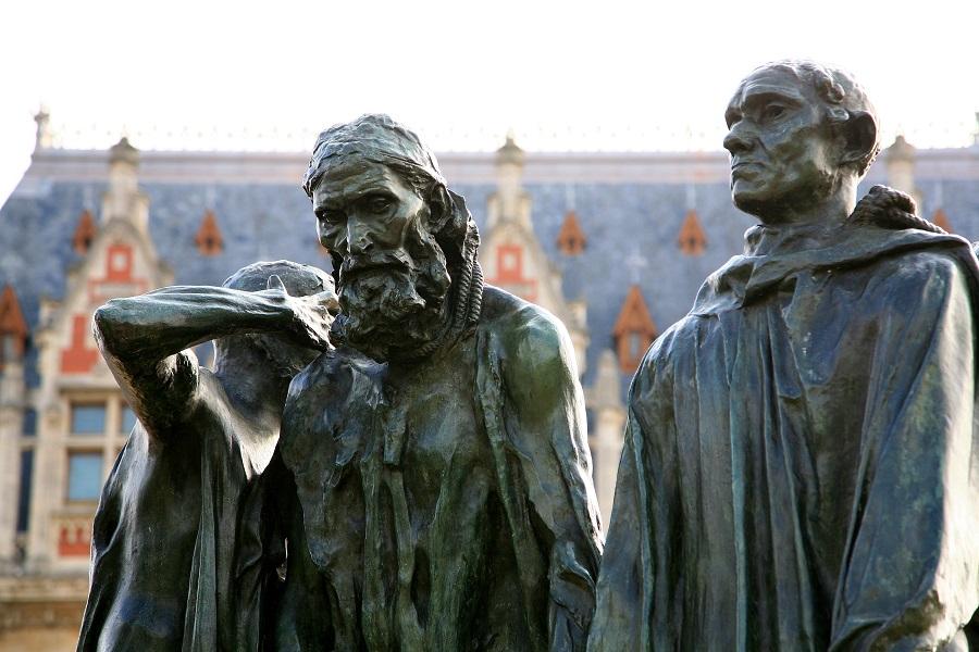 Statue des Six Bourgeois à Calais