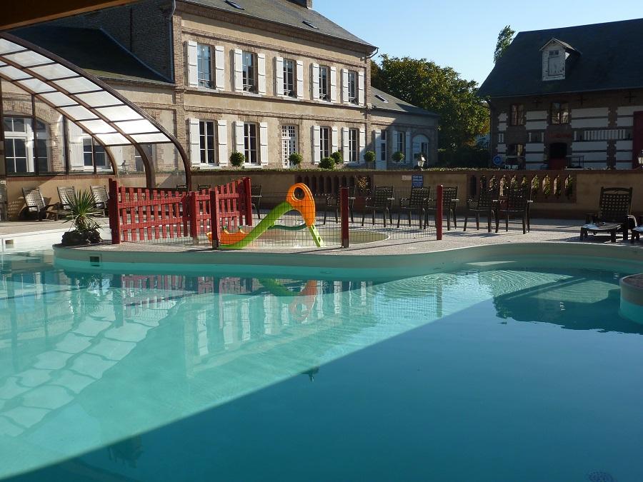 La piscine du camping de la Baie de Somme