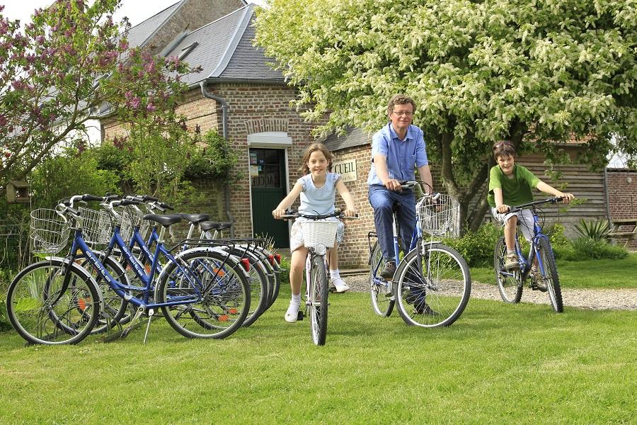 Location de vélos au camping La Safrière