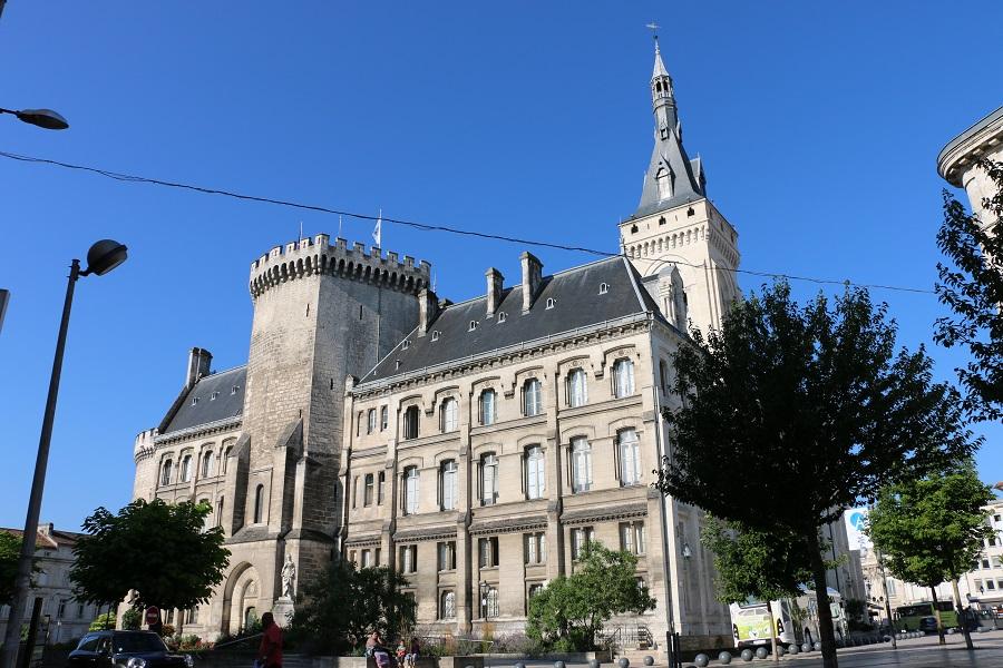 L'hôtel de ville d'Angoulême