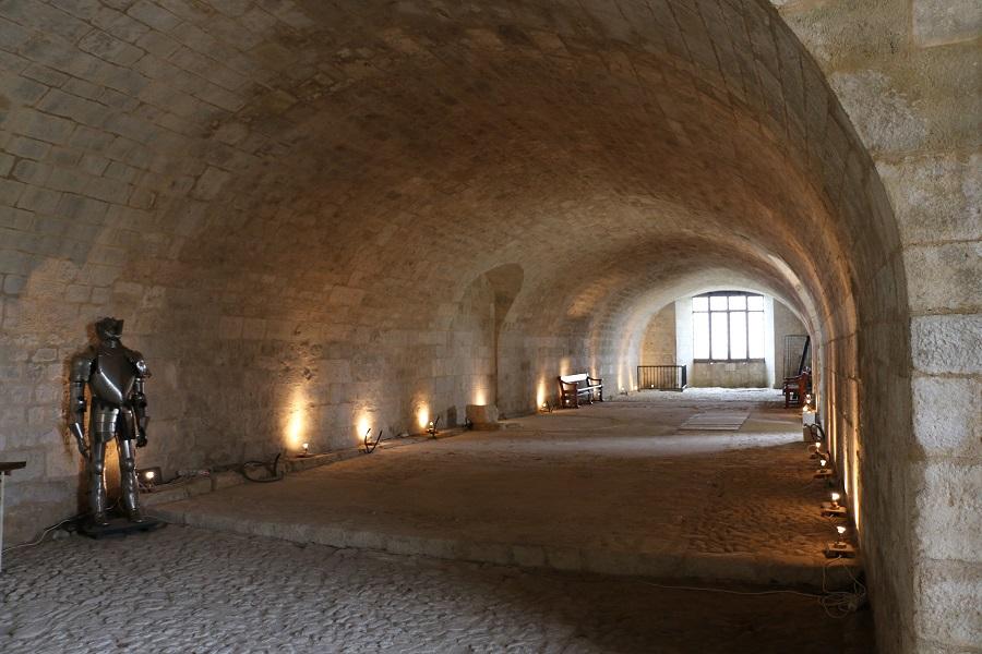 Dans le Château de Villebois-Lavalette
