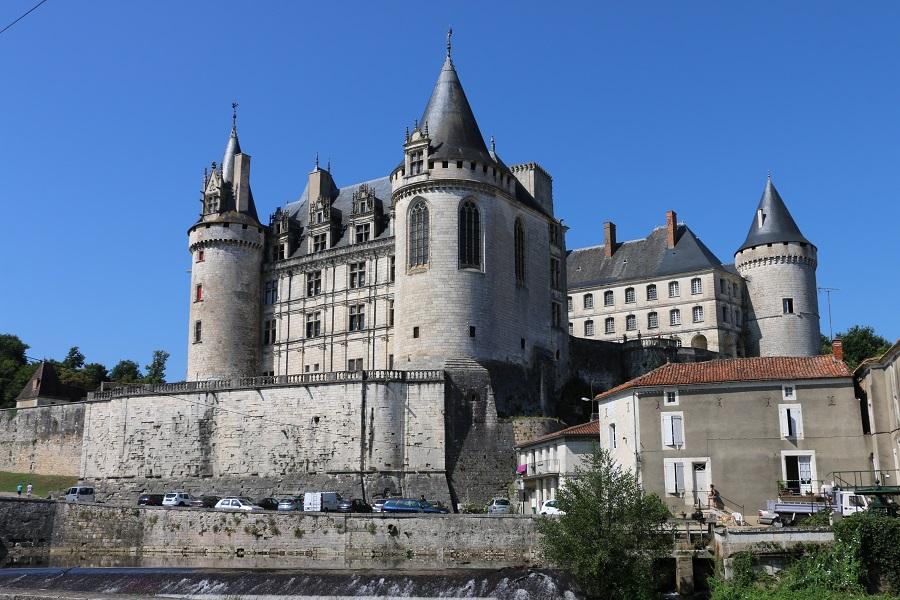 Château de La Rochefoucauld en Charente