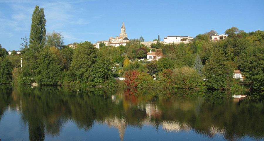 Saint-Simeux dans la Charente