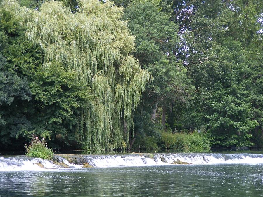 Cascade sur la Charente à Saint-Simon