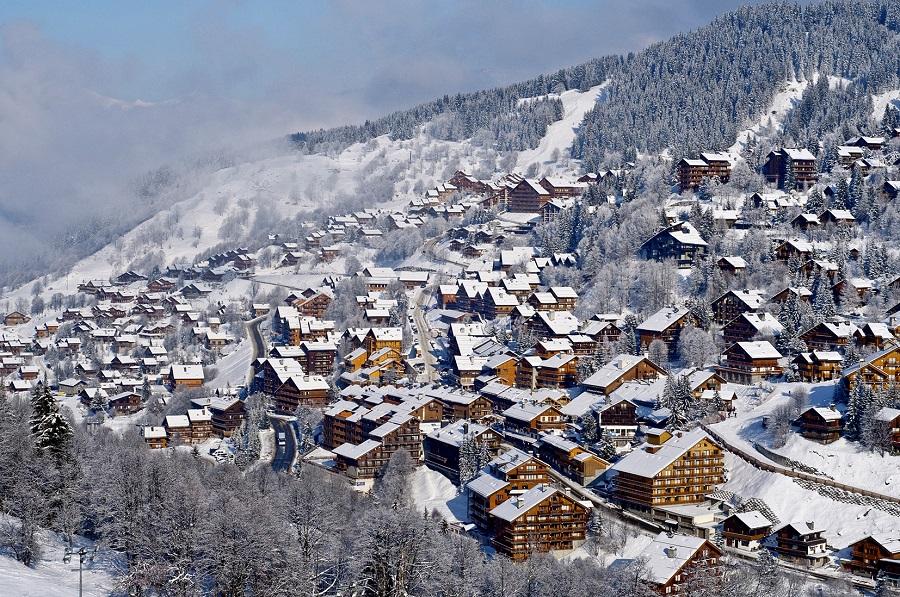 Station de ski Méribel, Les 3 Vallées