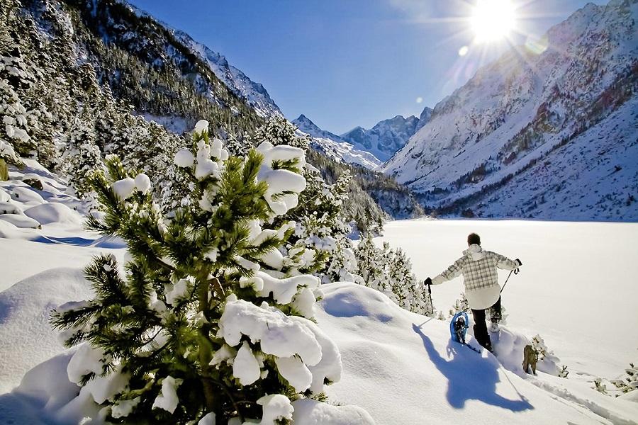 Station de ski Cauterets Pont d'Espagne