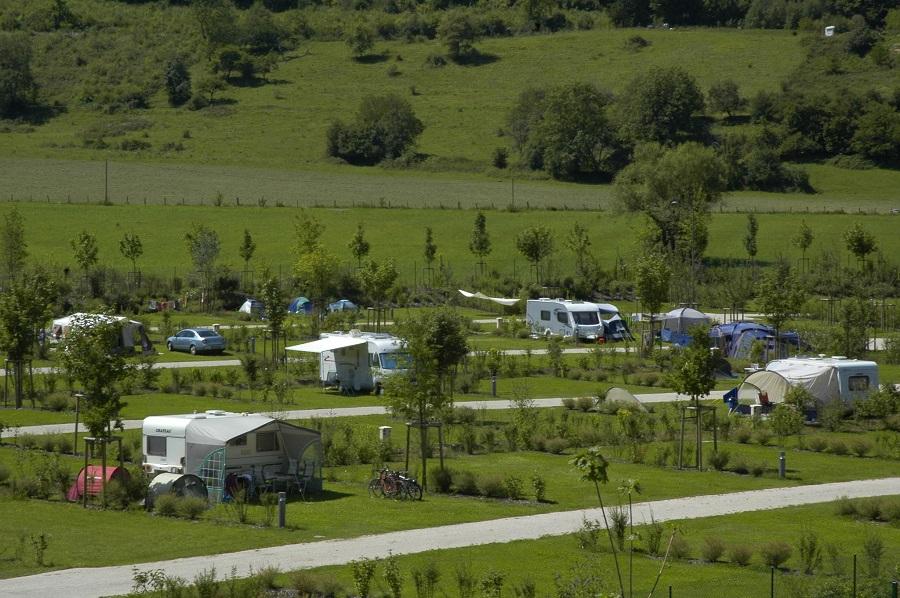 Camping nature La Roche d'Ully