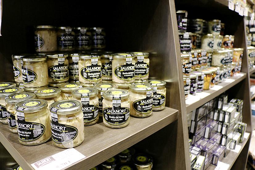 La conserverie Salanort à Getaria