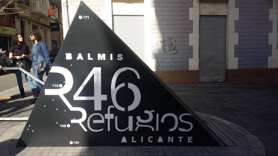 Abri anti-aérien à Alicante