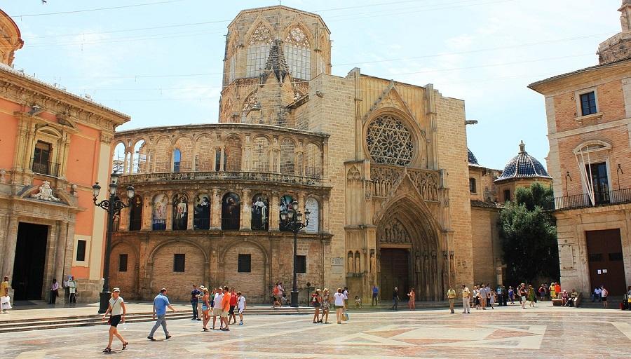 Cathédrale Sainte-Marie de Valence en Espagne