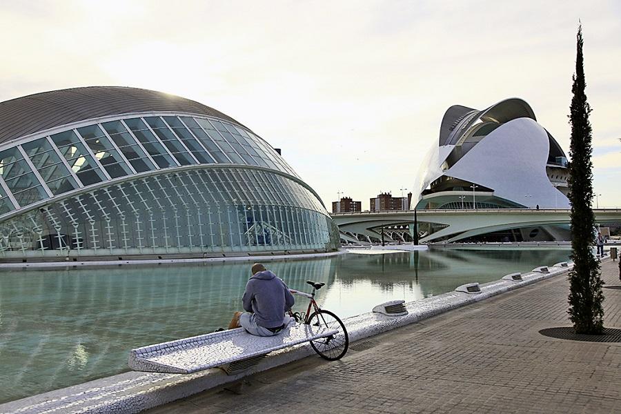 Cité des Arts et des Sciences à Valence en Espagne