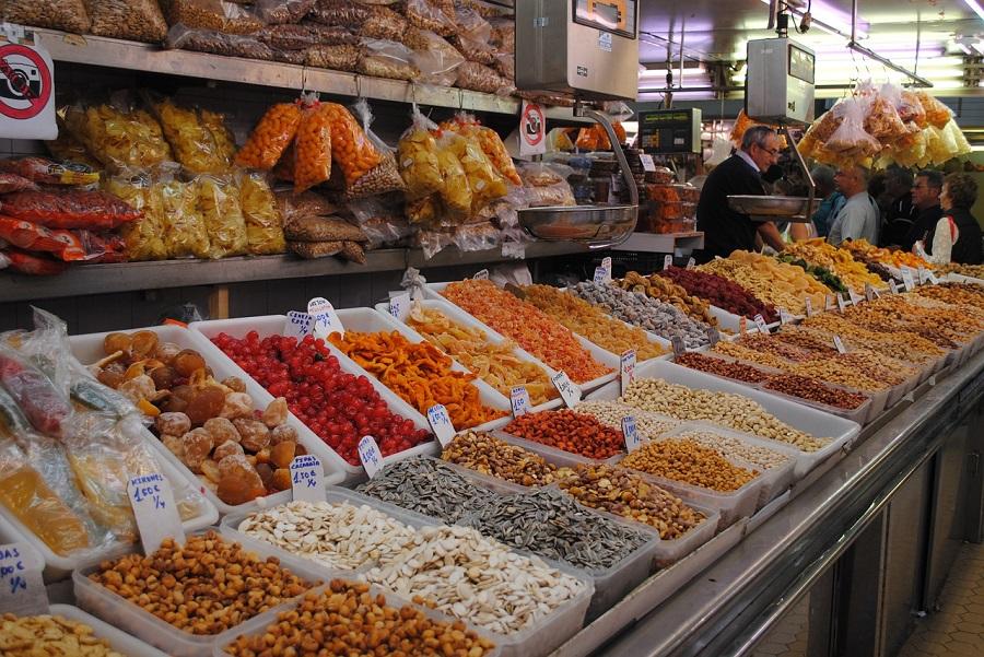 Mercado Central à Valence en Espagne
