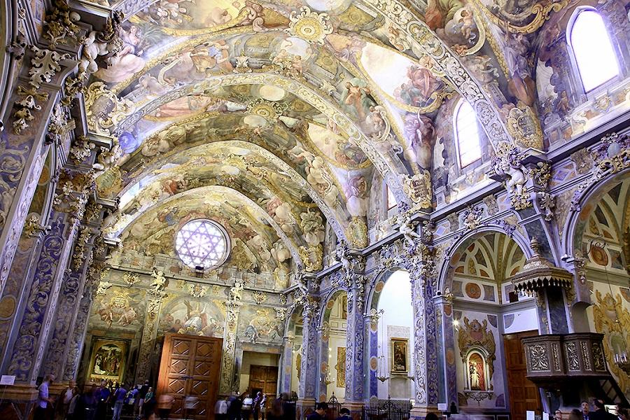 L'église San Nicolas de Valence en Espagne