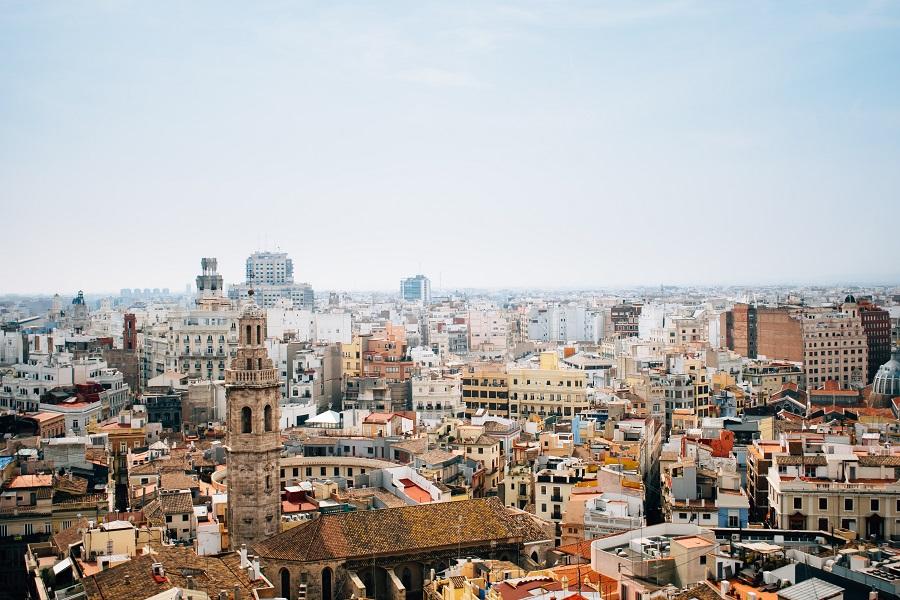 Tour Santa Catalina à Valence en Espagne