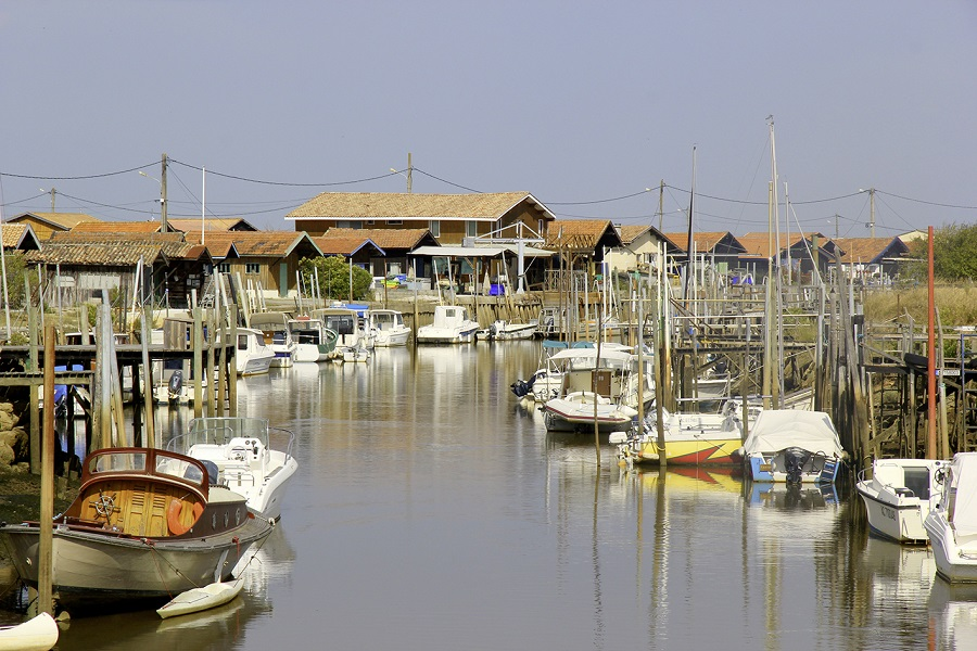 Le port d'Andernos