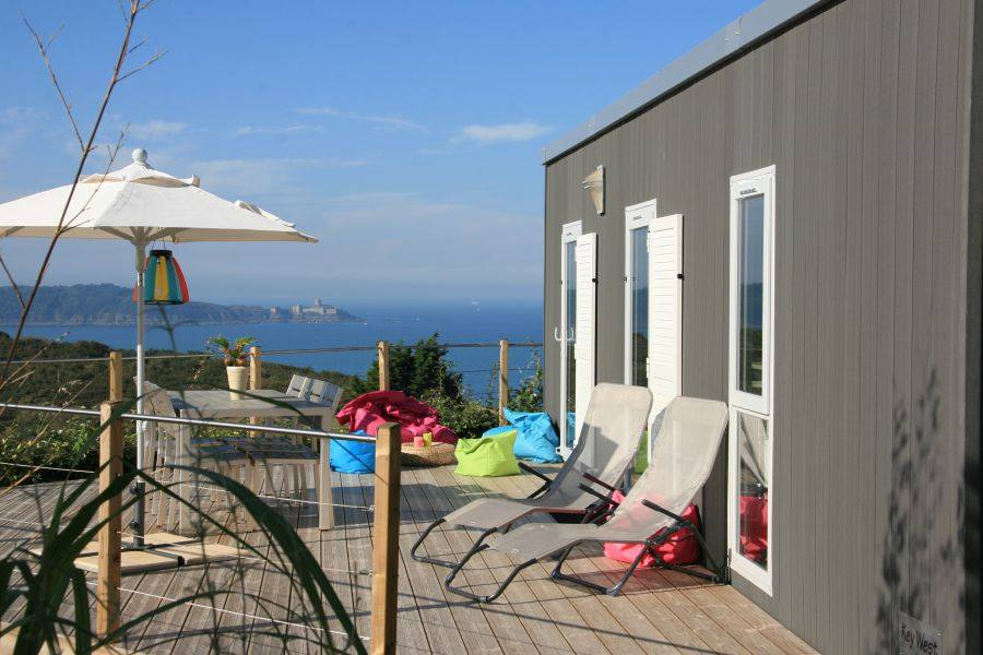 Mobil-home Key West au Camping Le Châtelet (Saint-Cast-le-Guildo)