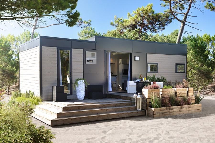 Mobil-home Taos au Camping En Chon Les Pins à Biscarrosse
