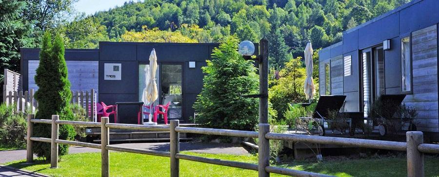 Mobil-homes Taos au Domaine de Champé dans les Vosges