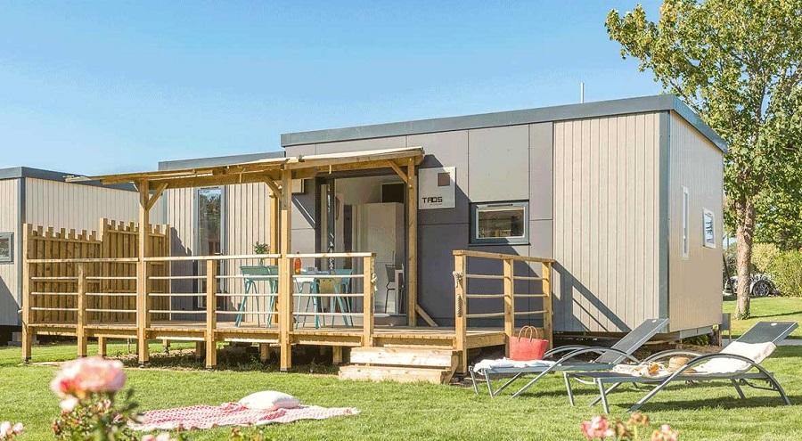 Mobil-home Taos au Camping L'Océan Breton (Finistère)