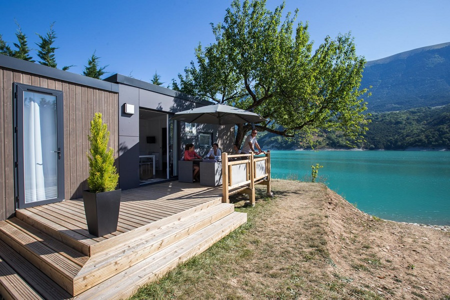 Mobil-home Taos au Camping d'Herbelon en Isère